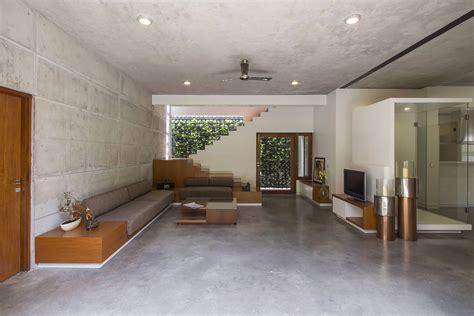 badri residence  modern indian home  architecture