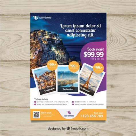 Flyer Vectors Photos And Psd Files Free Travel Flyer Vectors Photos And Psd Files Free