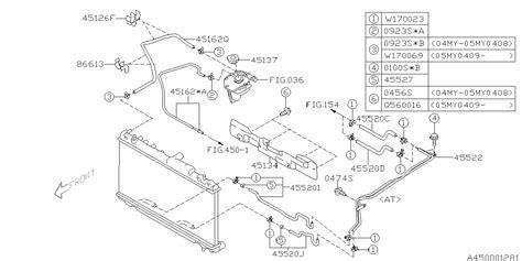Subaru 2 5xt Engine Diagram by 45520sa020 Genuine Subaru Hose Atf