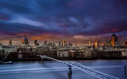 Bridge Millennium St Paul London River Cathedral