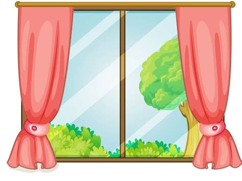 kitchen curtains curtain clipart window pencil and in color