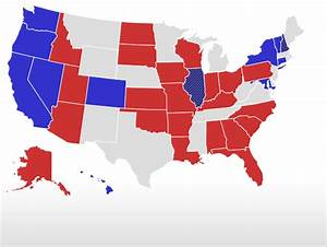 2016 Election Governor Map.html | Autos Post