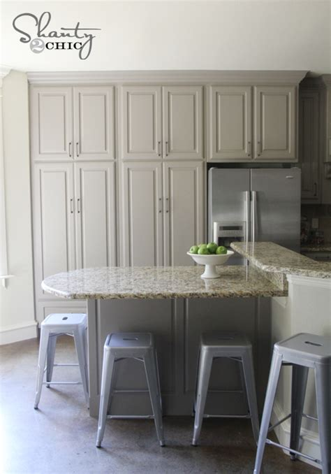 painted gray kitchen cabinets grey paint color for kitchen cabinets interior