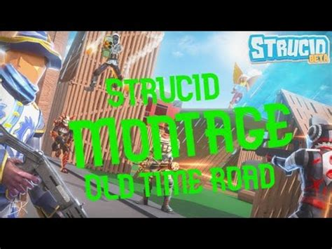 strucid montage  town road youtube