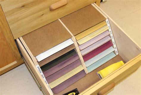 sheet sandpaper organizerstorage unit woodworking project
