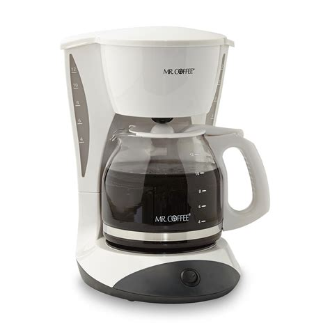 best coffee makers the best coffee maker mr coffee 12 cup white home kitchen coffee machine new ebay