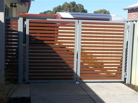 swing gates automatic swing gates perth driveway gates feature fencing