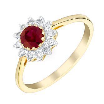ruby jewellery ernest jones