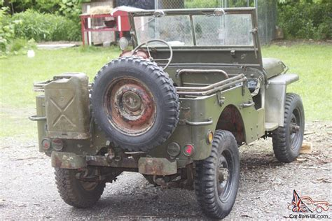 wwii jeep willys 1945 willys jeep ford gpw wwii military jeep army