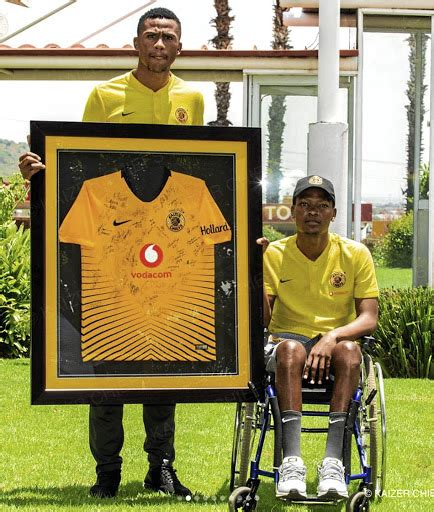 Disabled sports stars encourage Wiseman Meyiwa