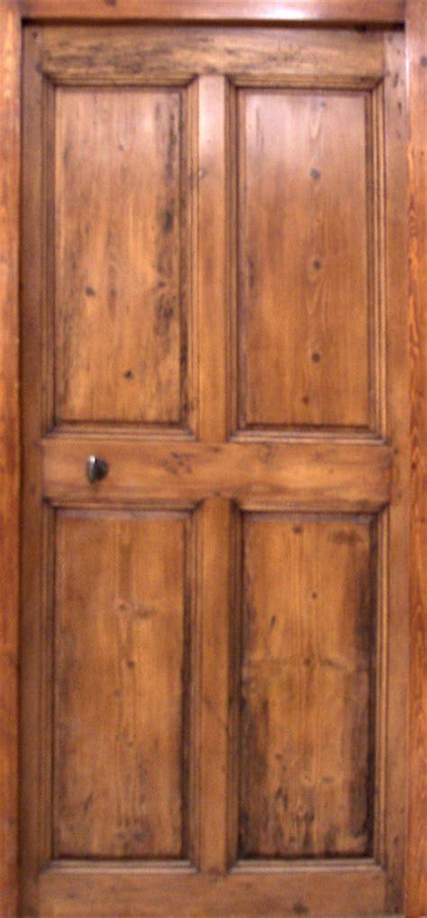porte en pin  panneaux eme siecle portes interieures