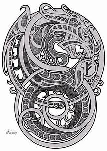 Dessin Symbole Viking : pingl par jean sebastien sur entrelacs tatouage celtique tatouage m di val et tatouage ~ Nature-et-papiers.com Idées de Décoration