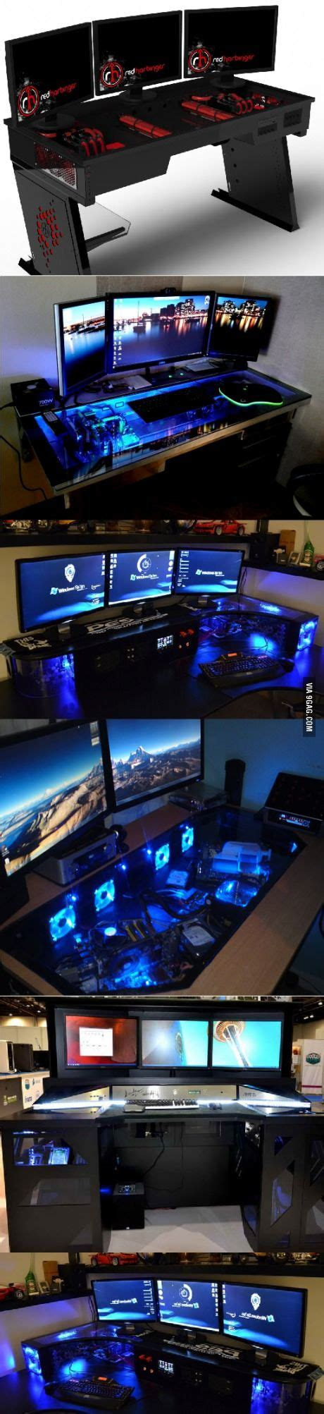 brother agreed  build epic gaming desk     post
