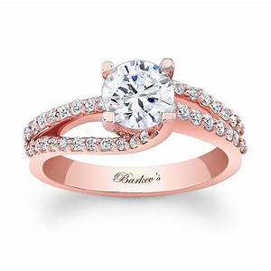 barkev39s rose gold engagement ring 7677lp barkev39s With wedding ring rose gold