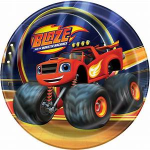 Blaze And The Monster Machines Cake Plates Blaze And The