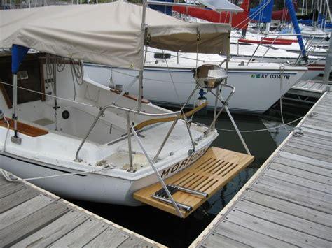 Sailboat Swim Platform by 32 Best Live Boat Must Haves Images On