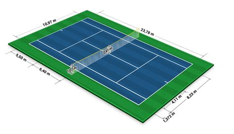 In total, tennis courts measure 78 ft. File:Tennis Court Dimensions.jpg - Wikimedia Commons