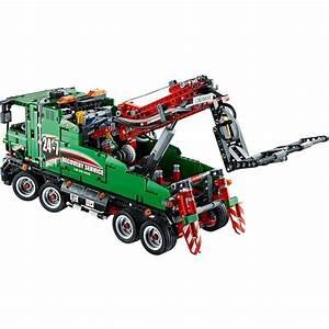 Lego Technic Camion : acheter un le camion de service lego technic 42008 sur ~ Nature-et-papiers.com Idées de Décoration