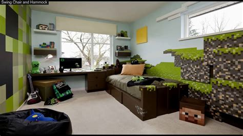 Minecraft Bedroom Decorations In Real Life - YouTube