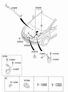2013 Hyundai Elantra Wiring Assembly