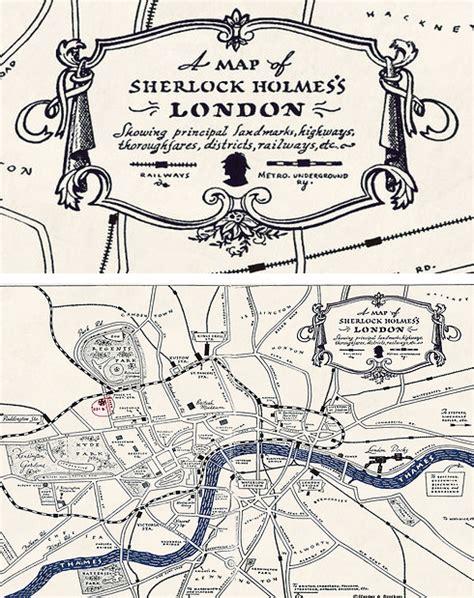 sherlock holmes map london detective street baker mystery john party watson dr emoji