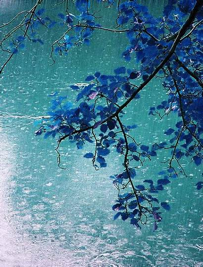 Rain Falling Raining Animated Moving Rainy Pretty