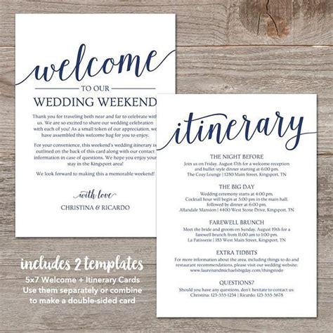 wedding itinerary template navy wedding  note