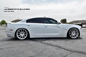 Stanced 2013 Dodge Charger Rt On 22 U0026quot  Rohana Rc
