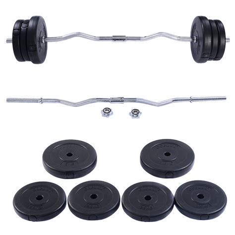 New Olympic Barbell Dumbbell Weight Set Gym Lifting