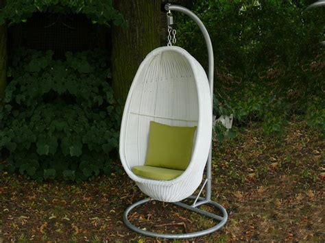 chaise suspendue jardin balancelle de jardin quot palm quot 1 place 37825