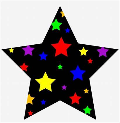 Clipart Star Colorful Starry Symbol Pngkey