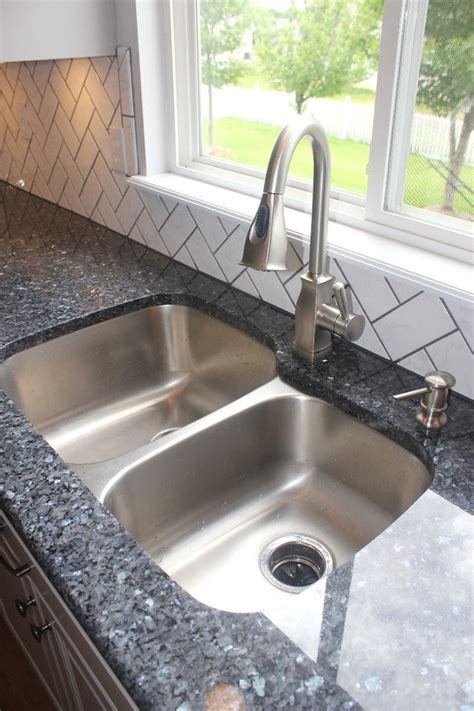 Blue pearl granite   Kitchen makeover   Pinterest   White