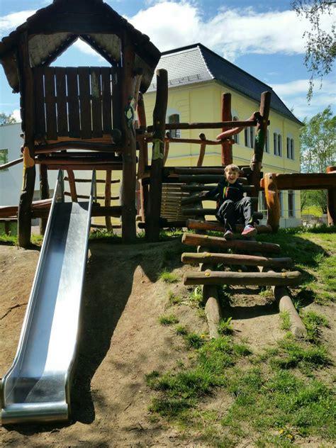 Spielplatz Am Stadtpark In Wilsdruff Spielplatznetde