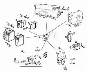 Mgb Control Box  Solenoid  Relays  U0026 Fuses
