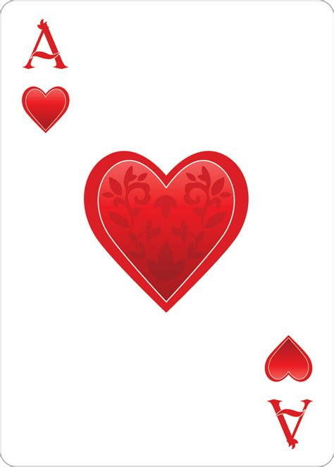 hearts card the ace of hearts playing cardalice of wonderland alice of wonderland