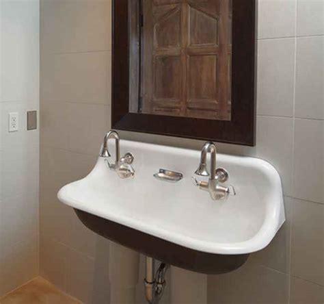 vintage style bathroom sinks vintage bathroom sink wall hung consigned refinished