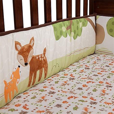 9680 lambs and crib bedding lambs 174 woodland tales 4 crib bumper bed bath
