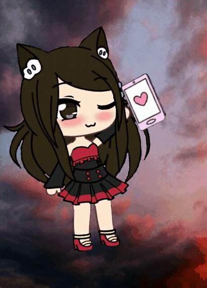 Gacha Anime Kawaii Holi Characters Espero Esfuerzo