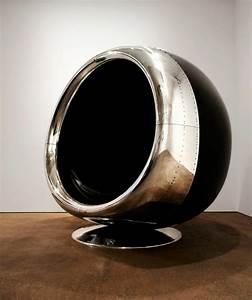 Fauteuil En Forme D Oeuf : fauteuil uf design en capot d 39 avion par fallen furniture ~ Teatrodelosmanantiales.com Idées de Décoration