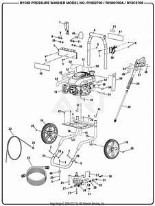 30 Ryobi Pressure Washer Parts Diagram