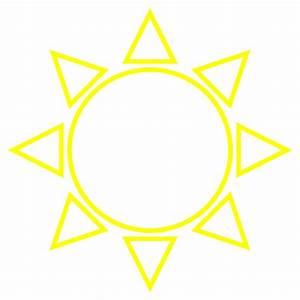 Tikz - Diagram Of The Sun - Tex