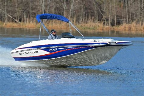tahoe 195 deck boat tahoe 195 fish deck boats for sale