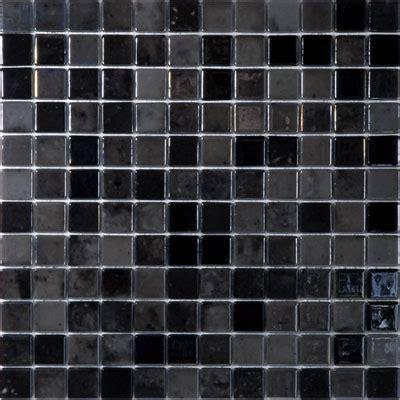 black mosaic tile agape tile black velvet 407 vidrepur lux glass mosaic tile 25mm 1 quot 1 sheet