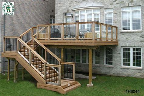 deck plans com size diy deck plans
