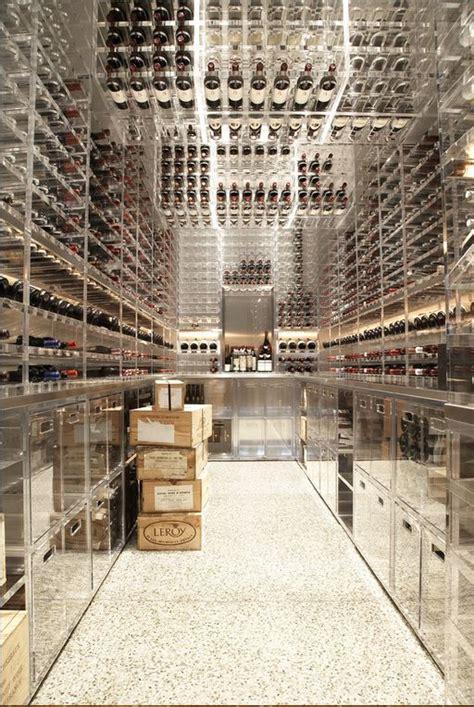 ultra modern plastic  glass wine cellar dream home