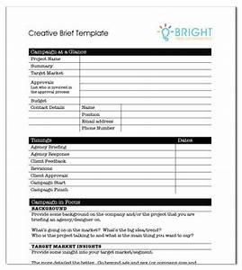 copy brief template - creative agency brief template