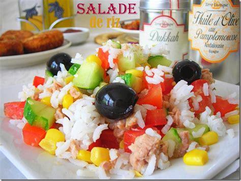 recette de cuisine facile et rapide dessert salade de riz facile le cuisine de samar