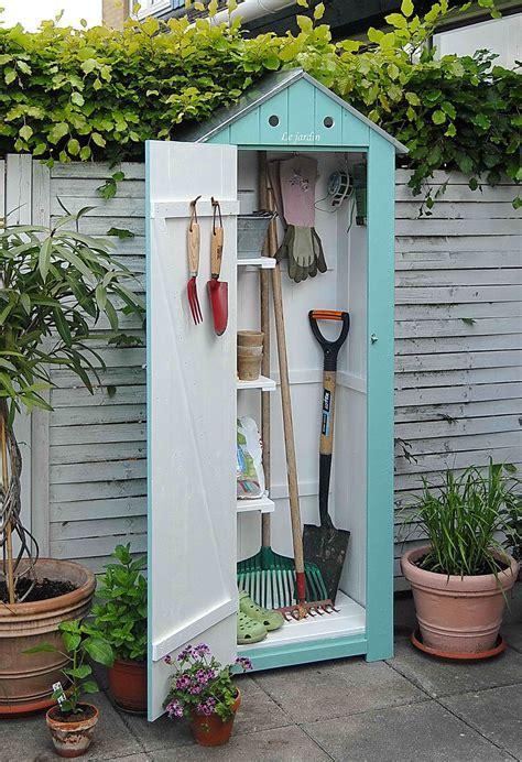 jolie rangement pour le jardin jardin armoire de
