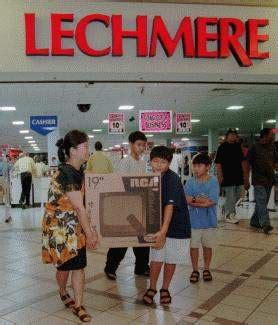 lechmere begins final sale shoppers  advantage news