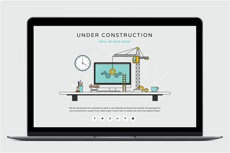 html  construction page medialoot